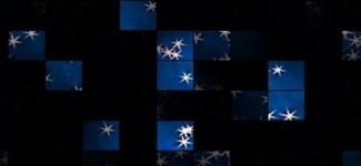 layered art - shooting stars 940 x 198